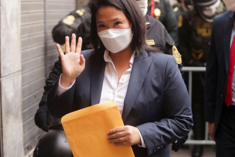 Procuradoria do Peru investiga Keiko Fujimori por suspeita de suborno (Foto: )