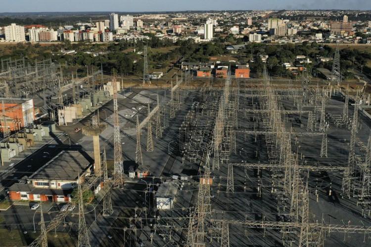 Subestação de Furnas. (Foto: Tv Brasil)