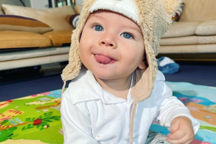 Rayan tem apenas seis meses (Foto: Reprodução/Instagram)