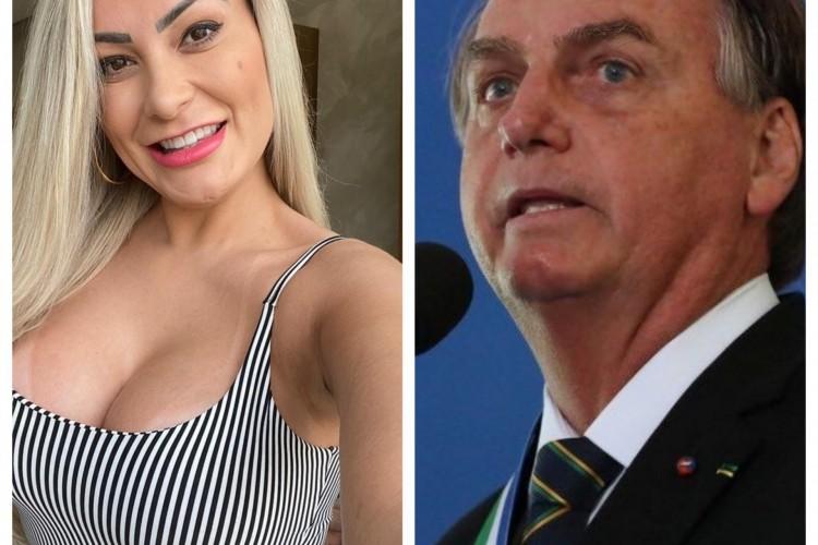Andressa Urach declara voto para 2022: