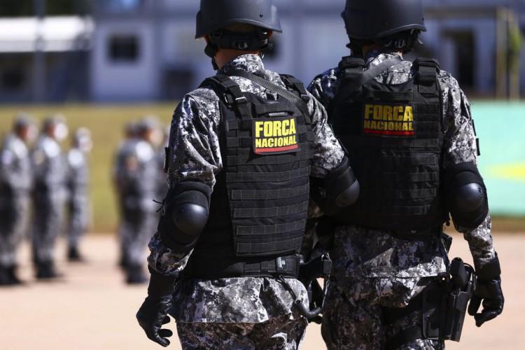 Cerimônia de  entrega de itens de segurança para 23 estados e o Distrito Federal. Os bens, que fazem parte do acervo da Força Nacional de Segurança Pública. (Foto: Marcelo Camargo/Agência Brasil)