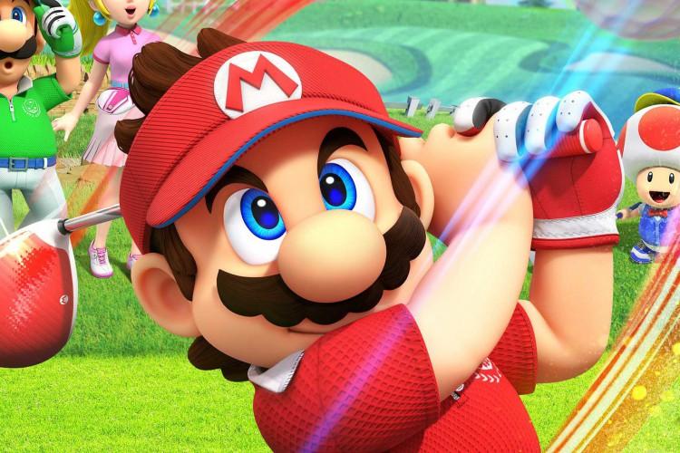 Este é talvez o Mario Golf mais complexo da série, pela quantidade de novas variáveis e obstáculos introduzidos (Foto: Reprodução)