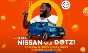 Parceria permite acúmulo de Dotz na compra de automóveis Nissan