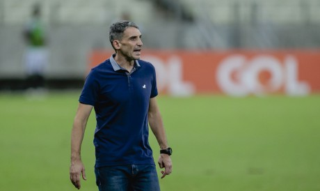 Juan Pablo Vojvoda, técnico do Fortaleza