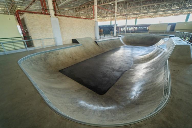 Pista de skate da Cactus Sports Park (Foto: Reprodução Facebook)