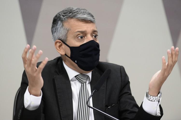 Ele foi exonerado do cargo em junho, depois da denúncia de que teria pedido propina para autorizar a compra da vacina AstraZeneca (Foto: Pedro França/Agência Senado)
