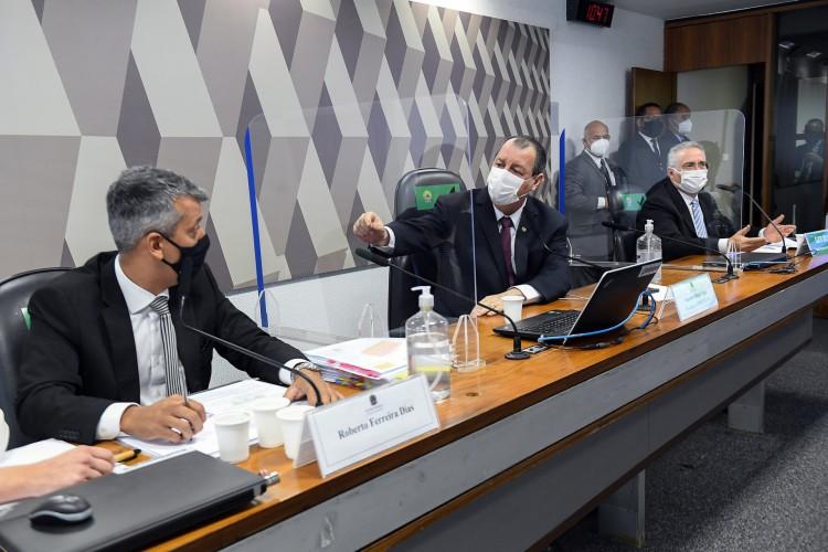CPI da Covid: presidente manda prender ex-diretor que prestava depoimento (Foto: Marcos Oliveira/Agência Senado)