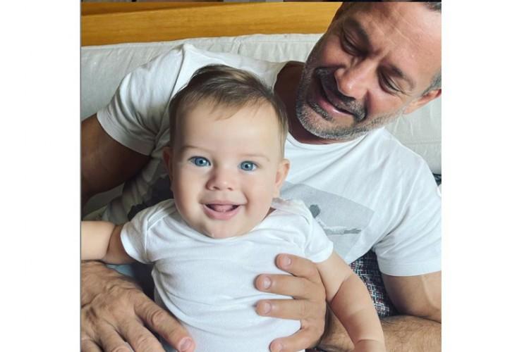Malvino Salvador e o filho Rayan. (Foto: Reprodução/Instagram Malvino Salvador)