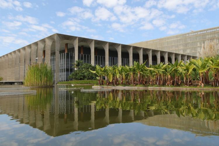 Palácio do Itamaraty na Esplanada dos Ministérios (Foto: Fabio Rodrigues Pozzebom/Agência Brasil)