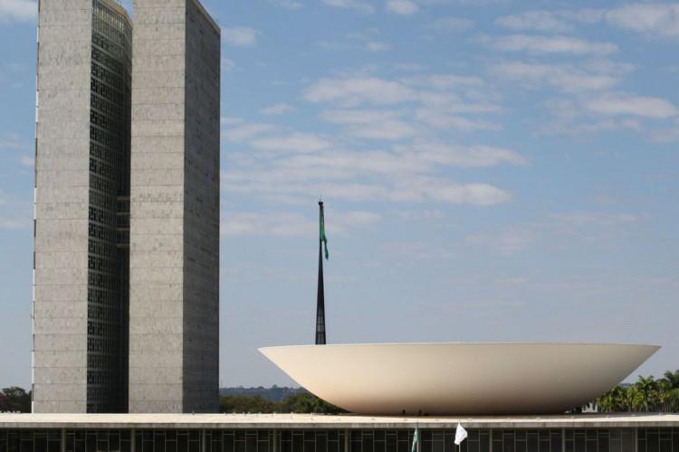 Palácio do Congresso Nacional na Esplanada dos Ministérios em Brasília (Foto: Fabio Rodrigues Pozzebom/Agência Brasil)