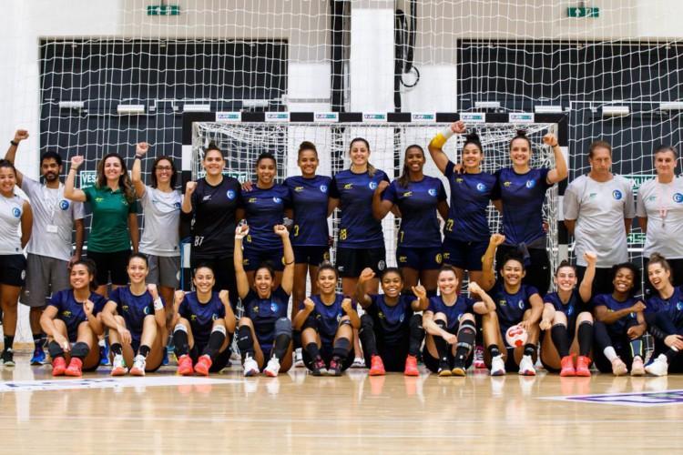 Seleção feminina de handebol bate Montenegro em amistoso pré-Tóquio (Foto: )