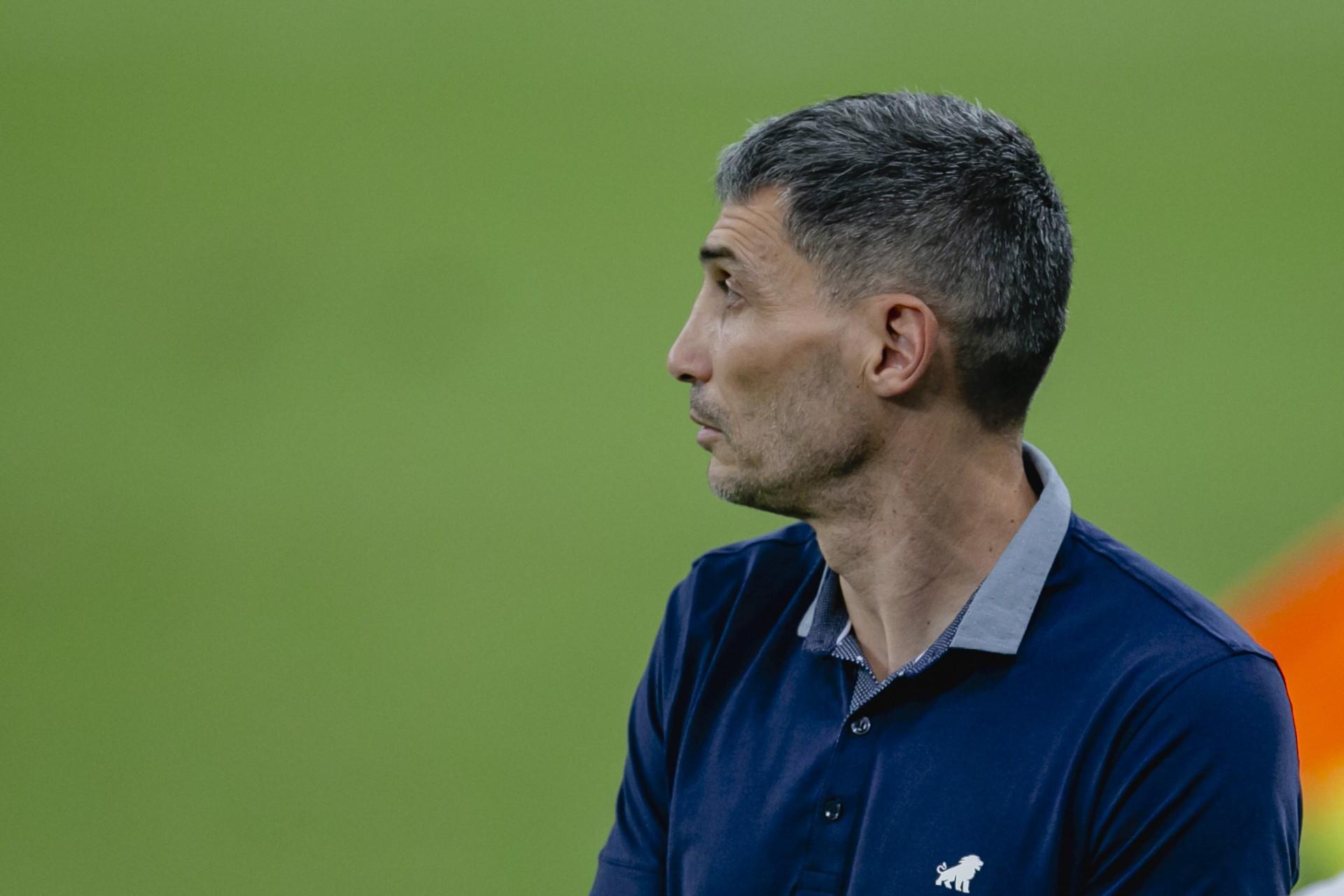 Argentino Juan Pablo Vojvoda levou o Fortaleza à terceira colocação na Série A (Foto: Aurelio Alves)