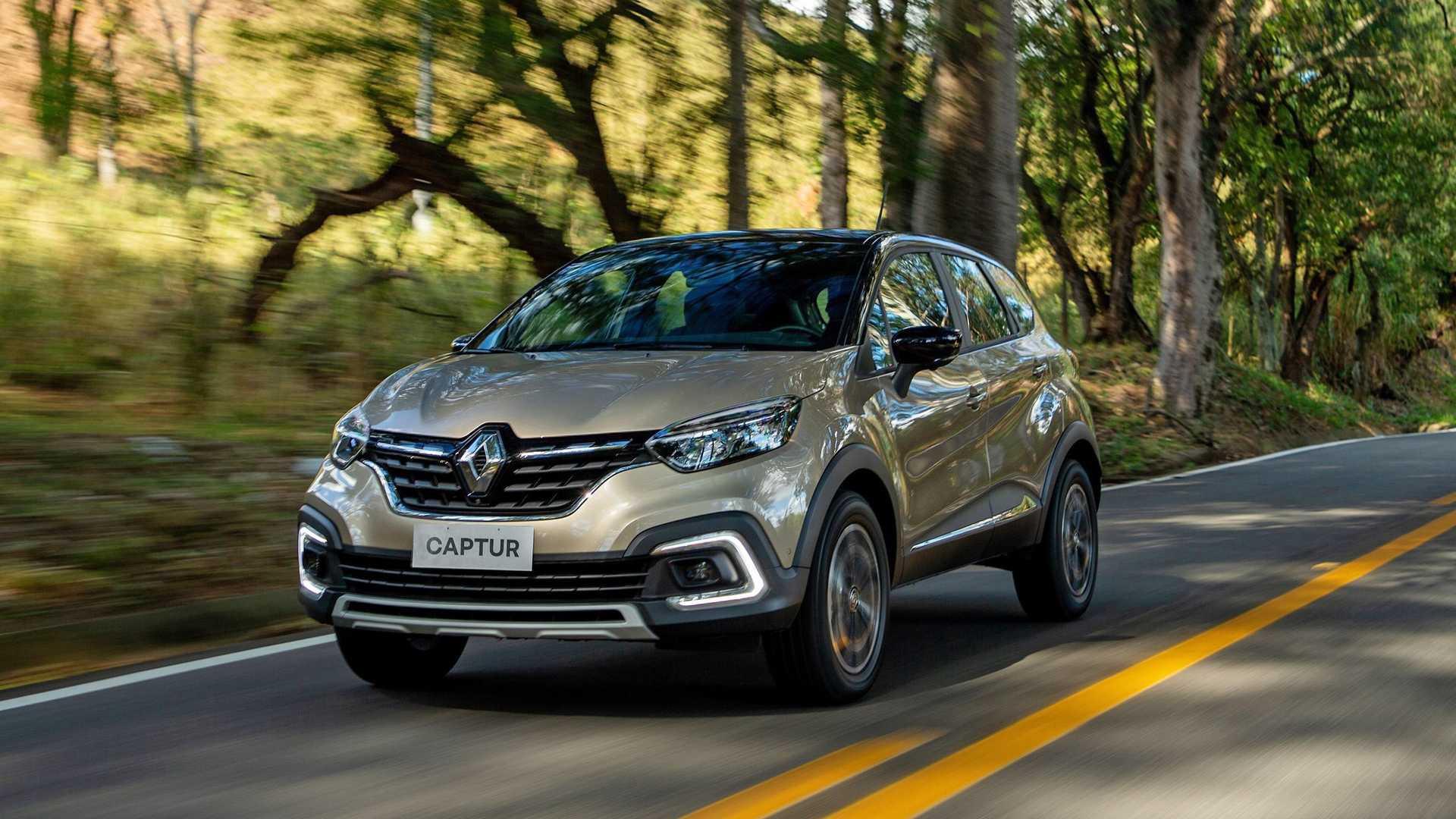 A dianteira do veículo apresenta faróis com iluminação full-LED (Foto: Renault/Reprodução)