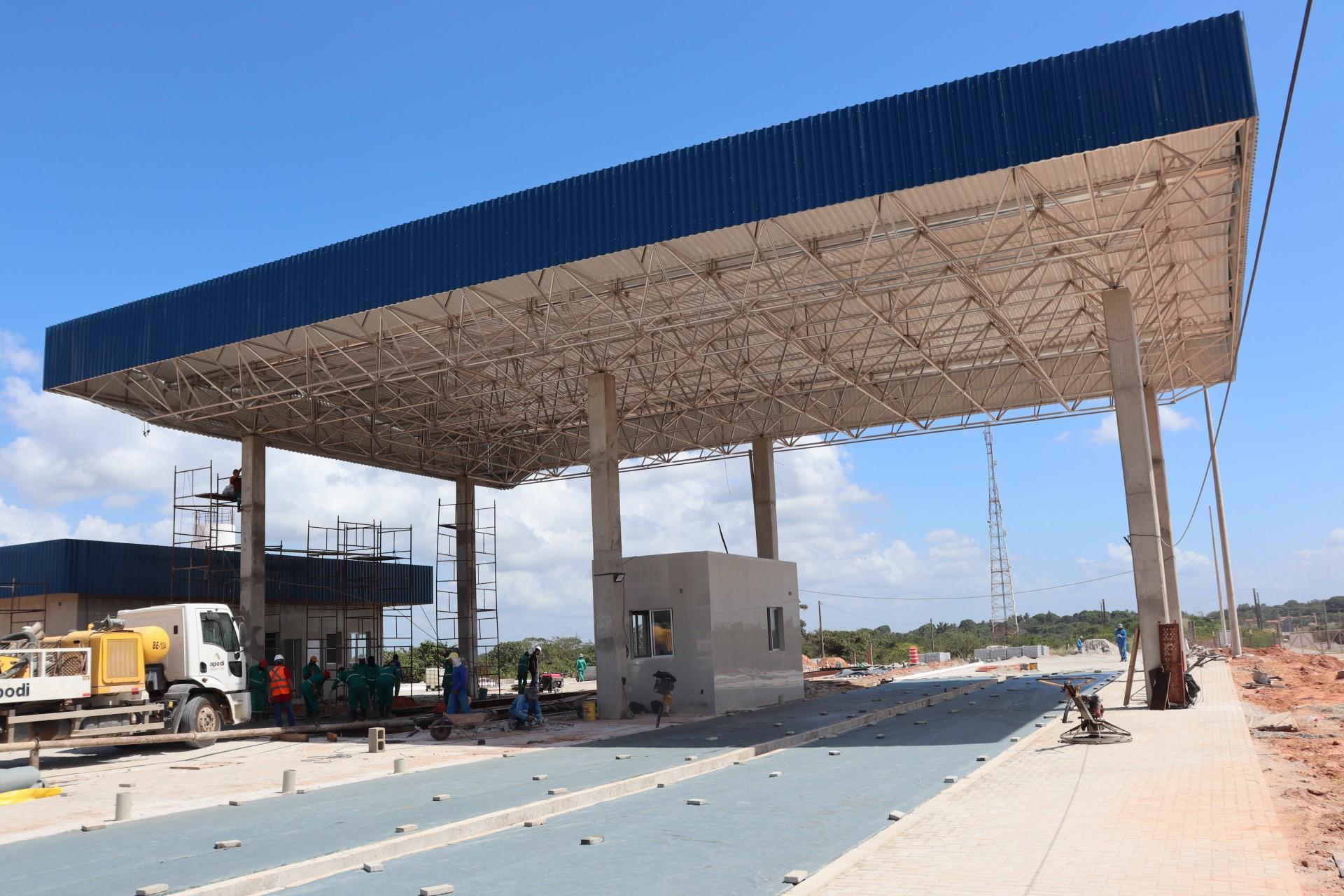 Refinaria deve ser instalada no setor 2 da ZPE do Ceará, que está em fase de conclusão da construção (Foto: Divulgação/ZPE Ceará)