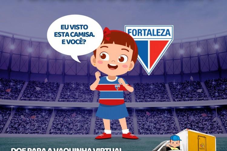 Fortaleza apoia a nova campanha da Associação Peter Pan  (Foto: Associação Peter Pan)