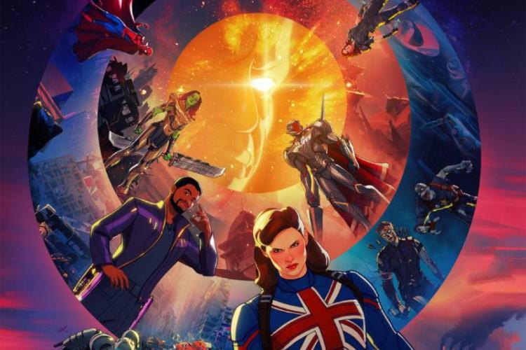 A Marvel divulgou o post da série 'E Se?', que estreia em agosto no Disney+ (Foto: Divulgação)