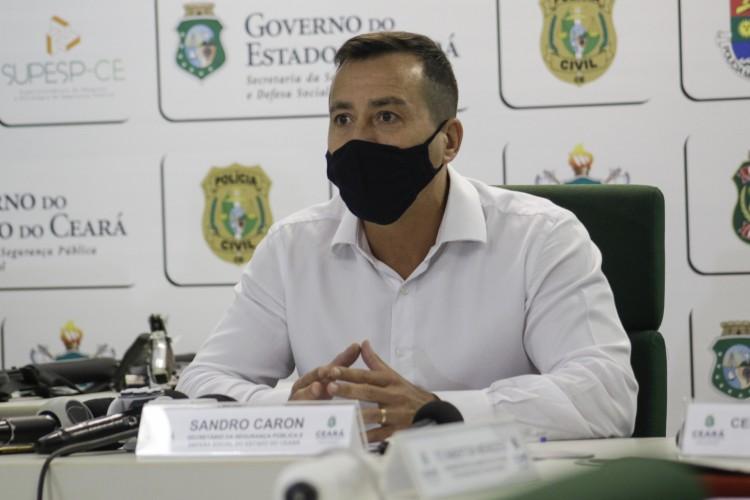 Secretário Sandro Caron, da SSPDS  (Foto: Thais Mesquita)