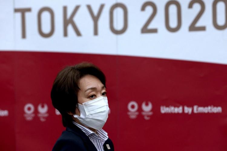 A presidente do Comitê Organizador da Olimpíada de Tóquio 2020, Seiko Hashimoto (Foto: Behrouz MEHRI/AFP)