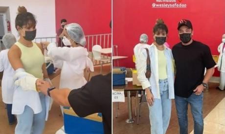 Thyane Dantas teria furado fila da vacinação em Fortaleza