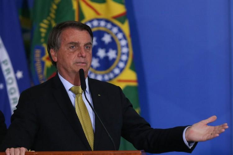 Bolsonaro defendeu, na manhã dessa sexta-feira, 9, o voto impresso para auditar os resultados das eleições de 2022 (Foto: Fabio Rodrigues Pozzebom/Agência Brasil)