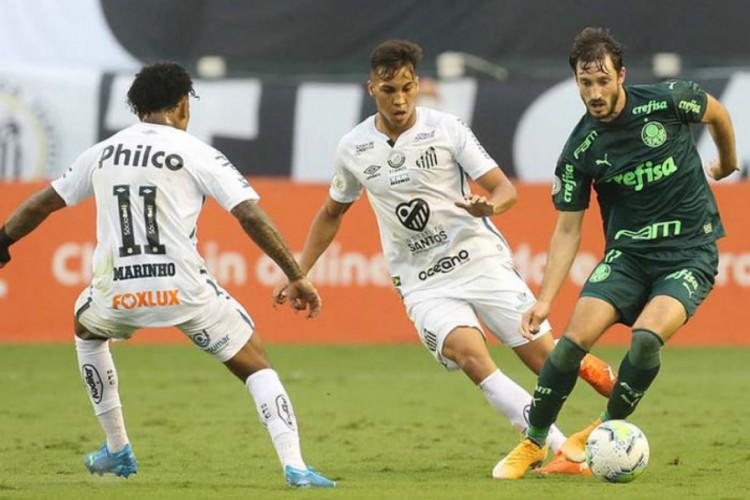 Palmeiras enfrenta hoje o Santos em jogo do Campeonato Brasileiro 2021; veja onde assistir ao vivo à transmissão, provável escalação, horário e arbitragem (Foto: Cesar Greco/Palmeiras)