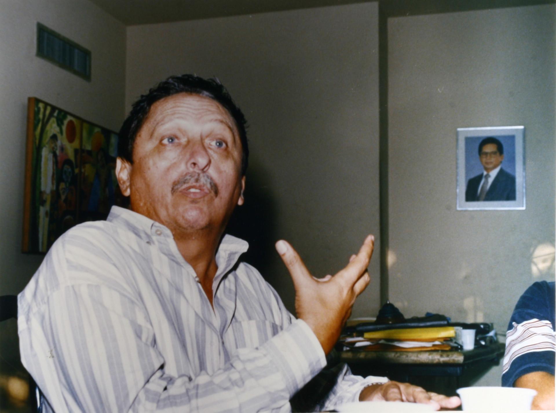 (Foto: Edmundo Sousa)Cláudio Pereira foi Presidente da Fundação Cultural de Fortaleza