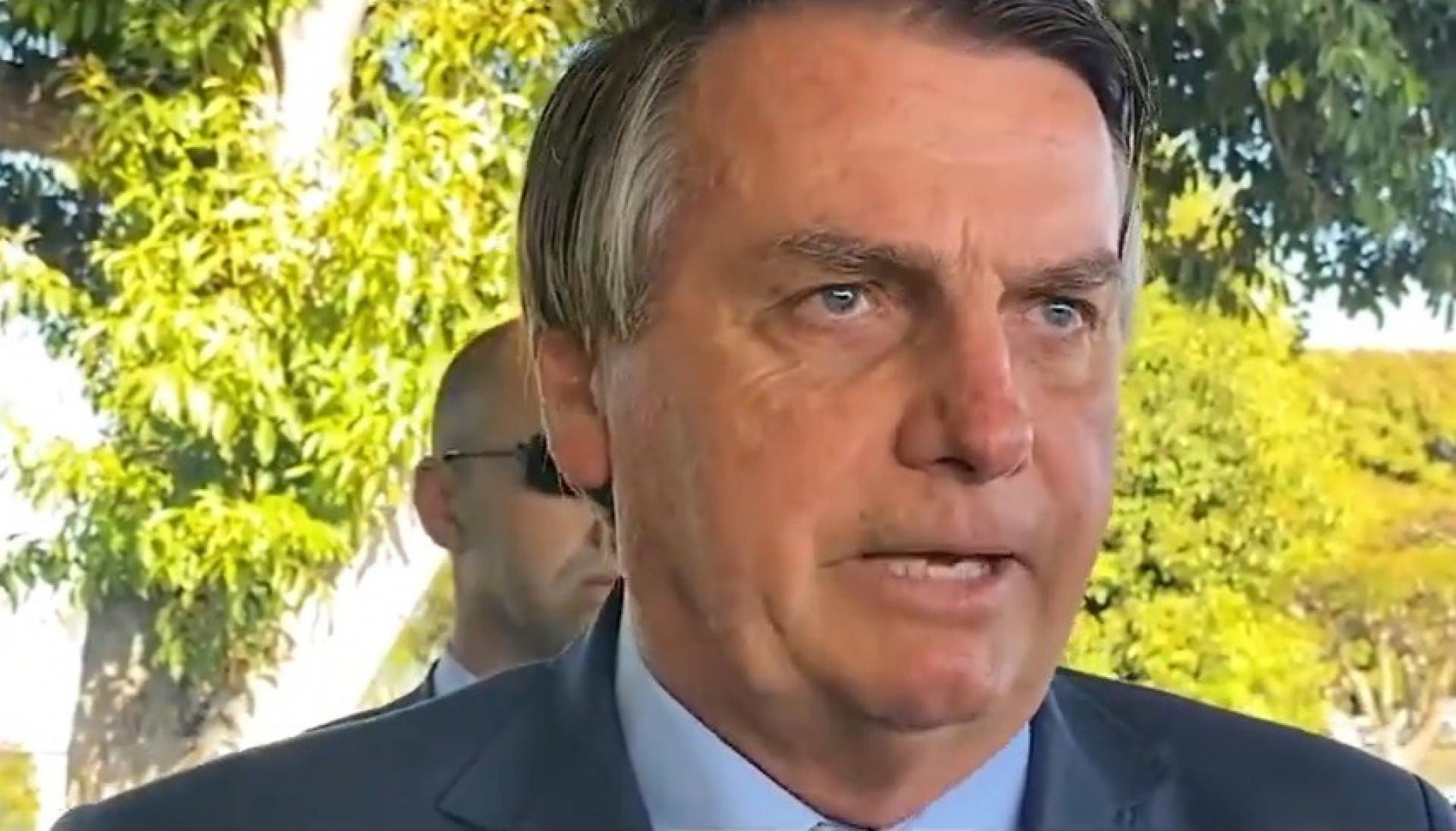 Presidente Jair Bolsonaro abriu nova crise ao questionar o sistema eleitoral brasileiro e atacar ministros do STF(Foto: REPRODUÇÃO)