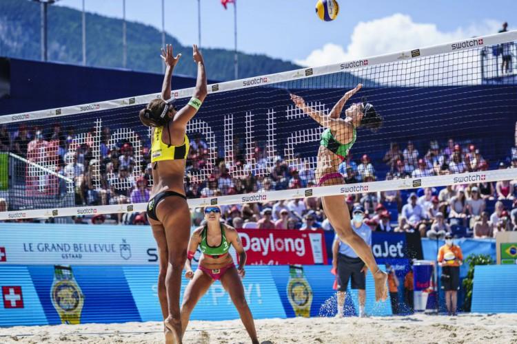 Brasileiras vencem última etapa do vôlei de praia antes de Tóquio (Foto: )