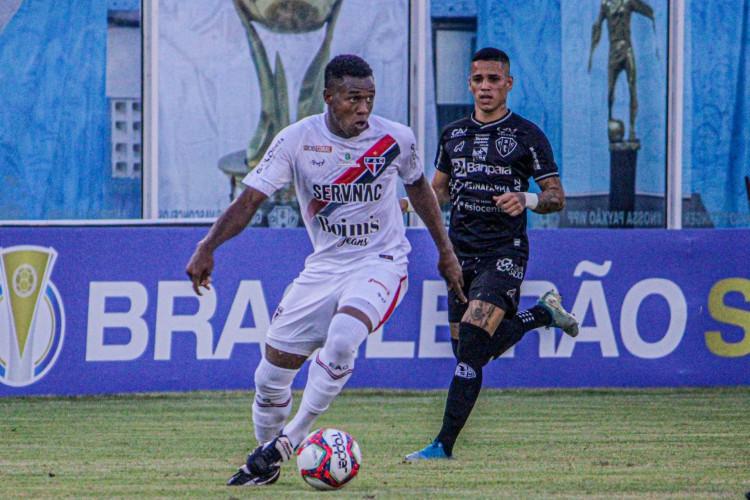 Ferroviário e Paysandu se enfrentaram pela 7ª rodada da Série C.  (Foto: Lenilson Santos/Ferroviário)