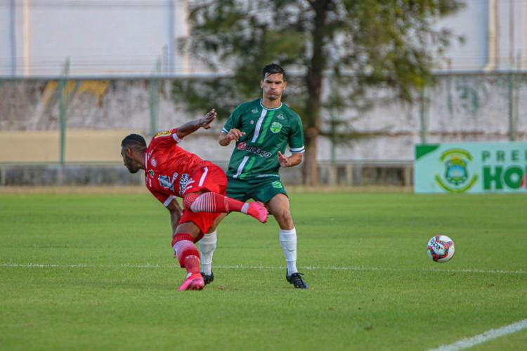 Floresta empatou a segunda jogando em casa (Foto:  Ronaldo Oliveira / ASCOM Floresta EC)