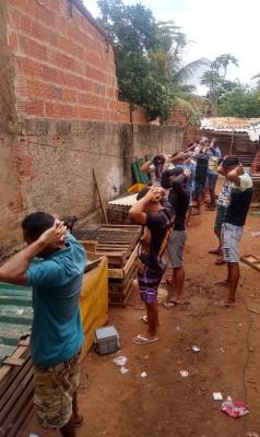 Rinha de galo é encerrada pela PM e 18 pessoas são conduzidas à delegacia em Juazeiro