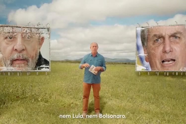 Nas redes sociais, Ciro diz ser alternativa diante de Lula e Bolsonaro em 2022 (Foto: Reprodução)