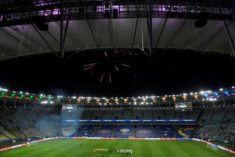 Maracanã antes da final da Copa América (Foto: MAURO PIMENTEL / AFP)