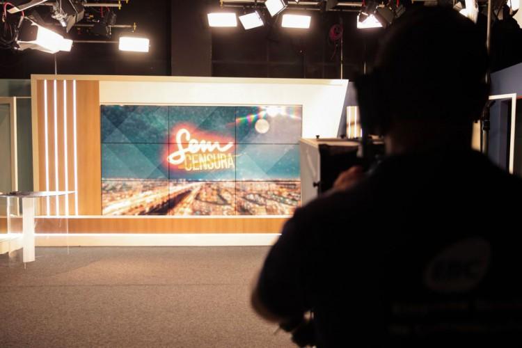 Estúdio Sem Censura TV Brasil (Foto: Marcello Casal JrAgência Brasil)