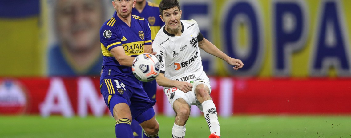 Nacho Fernández, meia do Atlético-MG. Saiba onde assistir os jogos de hoje, terça (20/07).  (Foto: Pedro Souza / Atlético)