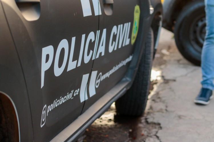 Os policiais militares foram acionados para atender uma ocorrência de lesão corporal no distrito de Umari. (Foto: Barbara Moira)
