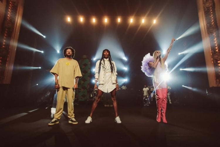 O show ao vivo de 'AmarElo', do Emicida, estará disponível na Netflix nesta quinta-feira, 15 de julho (Foto: Divulgação/ Netflix)