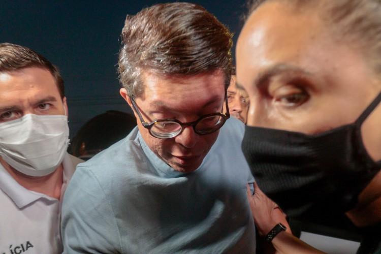 Agressões não bastariam para DJ Ivis ser preso, acha o motorista. Precisou ter a pressão (Foto: Barbara Moira)