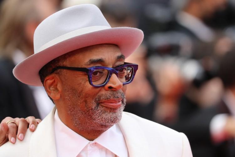 Spike Lee, presidente do júri de Cannes, coloca à venda seu autógrafo (Foto: Valery Hache / AFP)