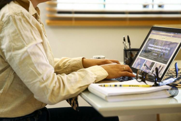 Teletrabalho, home office ou trabalho remoto. (Foto: Marcelo Camargo/Agência Brasil)