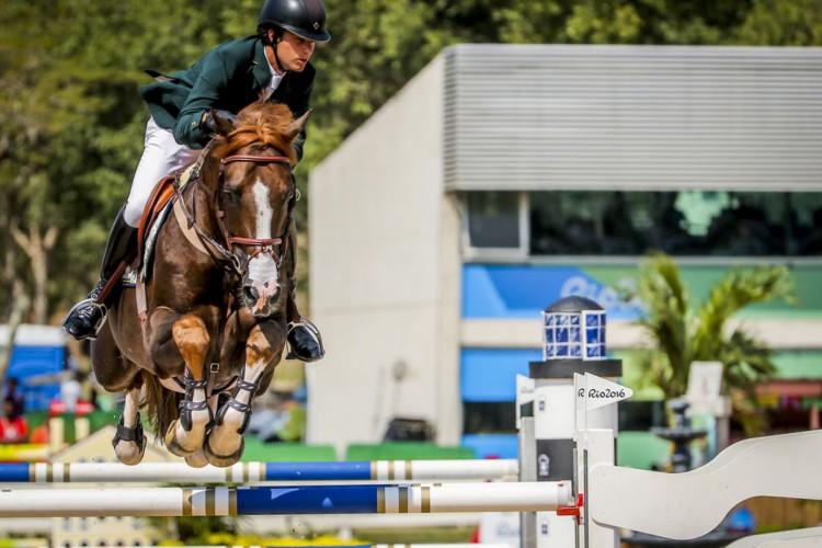 Olímpiada: Pedro Veniss substitui Luiz Francisco na equipe de saltos (Foto: )