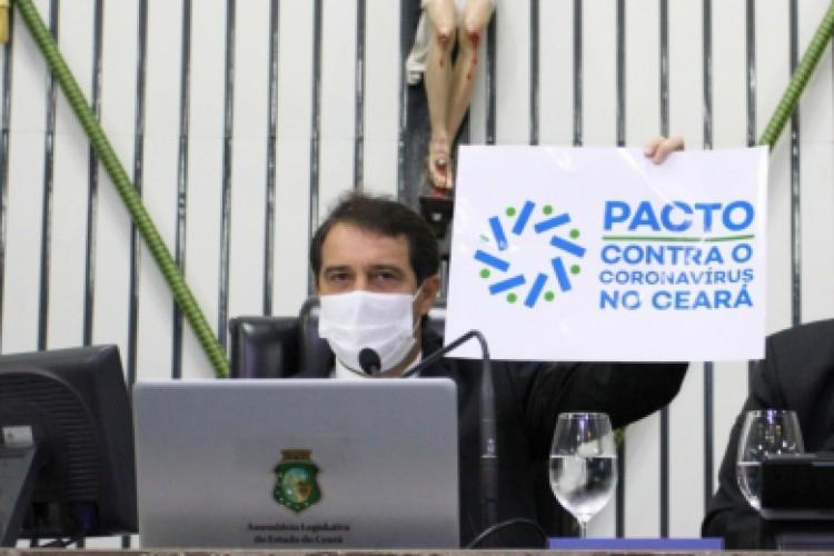Pacto contra o Coronavírus promoverá diálogo para ouvir setor produtivo nas Macrorregiões do Ceará (Foto: Foto: Edson Júnio Pio)