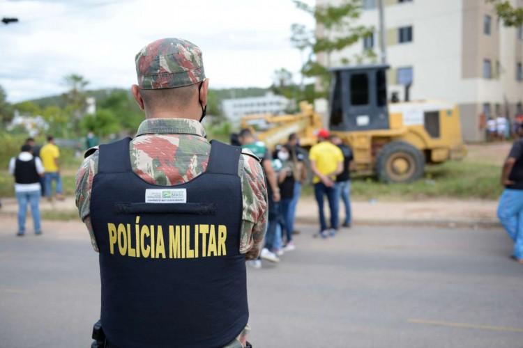 Ação envolveu atuação de órgãos de segurança e fiscalização (Foto: Divulgação/SSPDS)