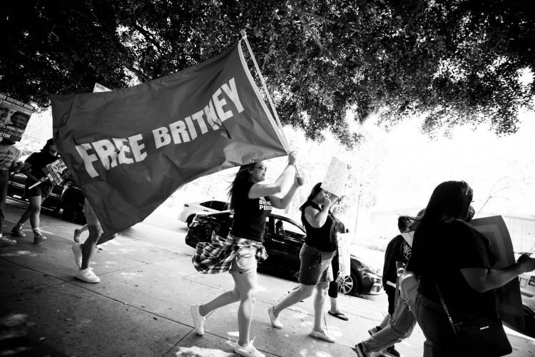 O movimento #FreeBritney extrapola o público de fãs da cantora Britney Spears (Foto: EMMA MCINTYRE / GETTY IMAGES / AFP)