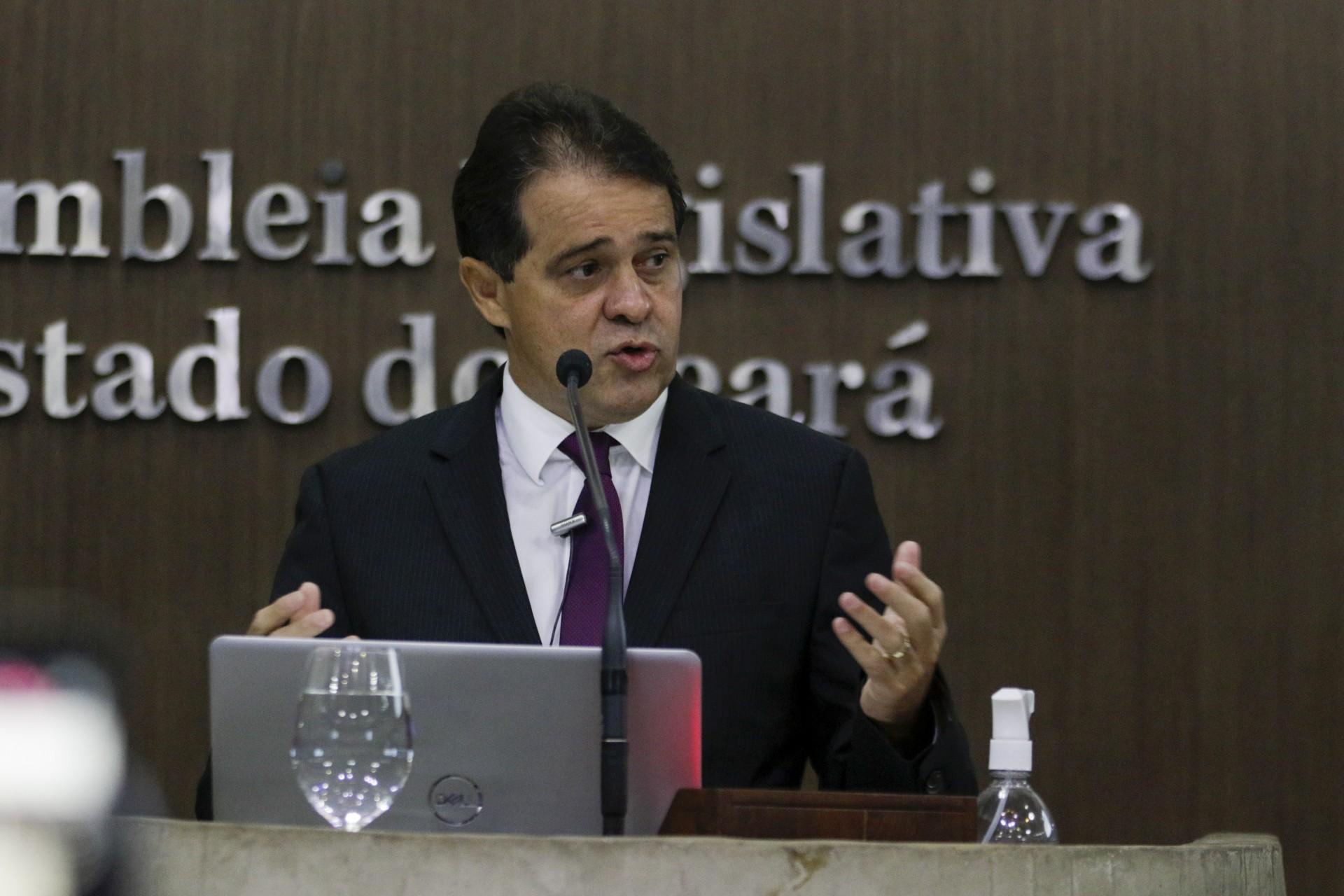 Presidente da Assembleia Legislativa, Evandro Leitão (PDT) (Foto: Thais Mesquita)