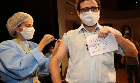 A ação objetiva reforçar a importância do esquema vacinal completo, com as duas doses do imunizante