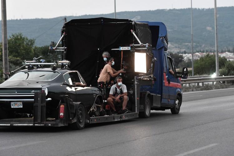 'The Enforcer', estrelado por Antonio Banderas, está sendo filmado neste ano, na Grécia (Foto: SAKIS MITROLIDIS / AFP)