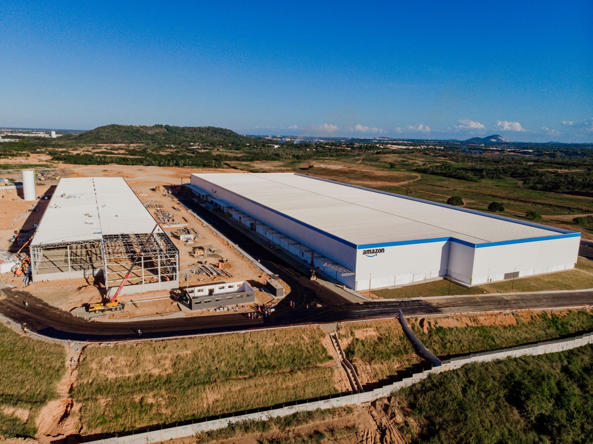 CD da Amazon é construído no 4º anel viário (Foto: JÚLIO CAESAR)