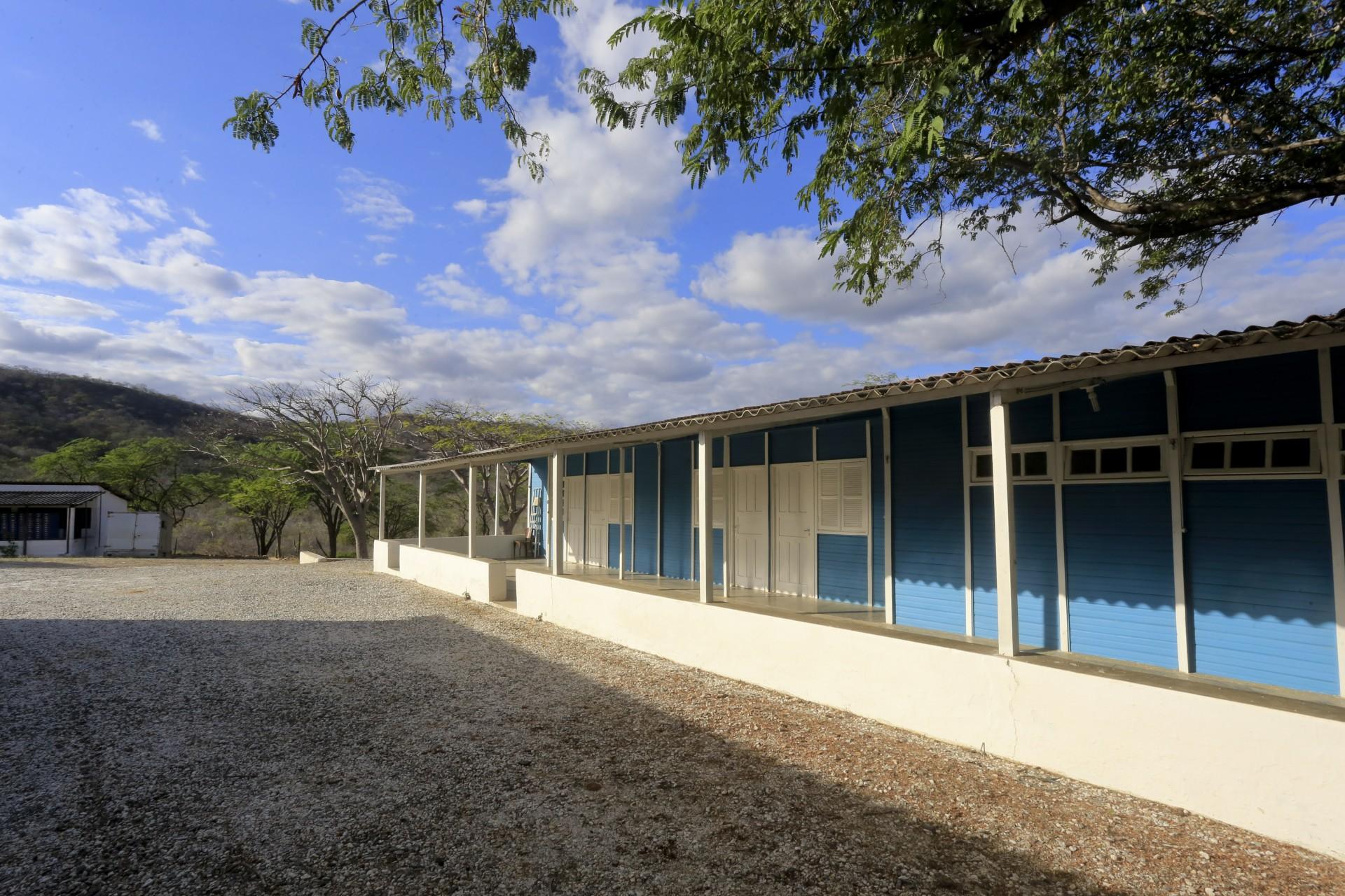 (Foto: O POVO)SANTA QUITÉRIA, CE, BRASIL, 20-07-2015: Acampamento para trabalhadores da mina de urânio e fosfato de Itataia. Mina de urânio (minério) em Santa Quitéria. (Foto: Fábio Lima/O POVO)