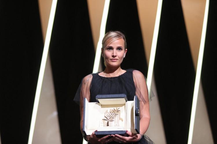 Diretora francesa Julia Ducournau (Foto: Valery HACHE / AFP)